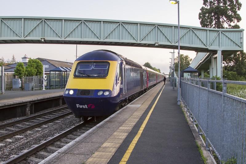 HST at station
